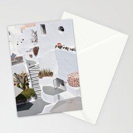 Santorini Architecture, Greece Stationery Cards