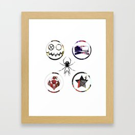 Killjoys Logo Framed Art Print