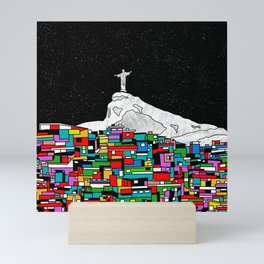Christ the Redeemer Mini Art Print