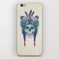 dead iPhone & iPod Skins featuring Dead shaman by Balazs Solti