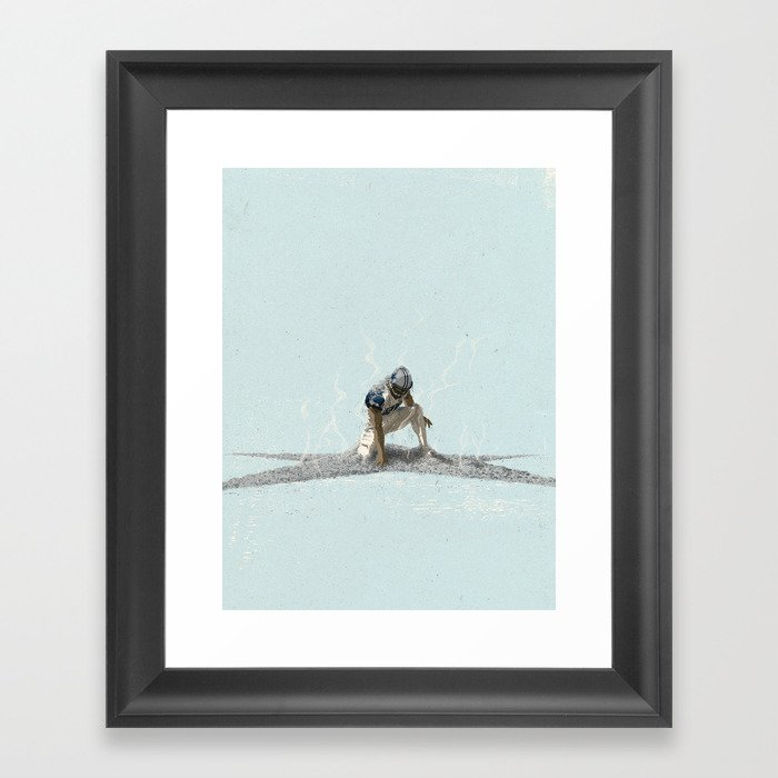 The Return of the Cowboys Framed Art Print