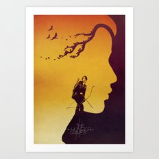 The Hunger Games Art Print