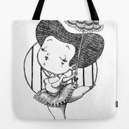 Chubbie Ballerina Tote Bag