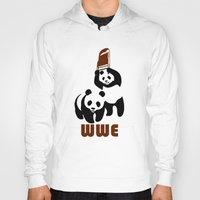 wwe Hoodies featuring Panda Wwe by Maxvtis