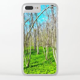 Spring in Stratford Clear iPhone Case