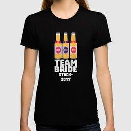 Team Bride Stockholm 2017 T-Shirt D0k5v T-shirt