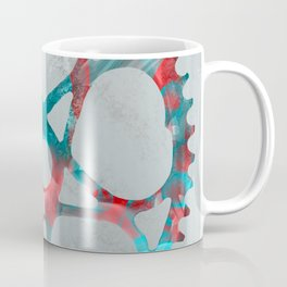 """Metal"" Sprocket Coffee Mug"