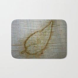 Leaf Impression Bath Mat