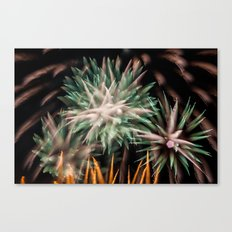 Fireworks - Philippines 16 Canvas Print