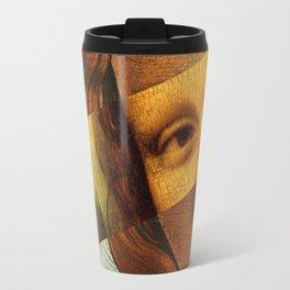 Botticelli's Venus and Mona Lisa Travel Mug