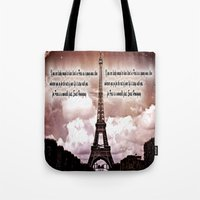 hemingway Tote Bags featuring Ernest Hemingway by Dan99