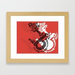 bare reft Framed Art Print
