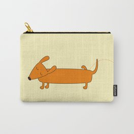 Cute pissing dachshund Carry-All Pouch