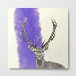dusty deer Metal Print