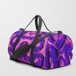 Neon Pink & Purple Rubber Bands Duffle Bag