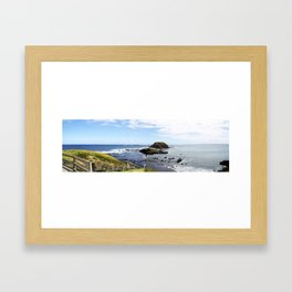 Phillip Island View. Framed Art Print