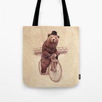 jazzberry Tote Bags featuring Barnabus by Eric Fan