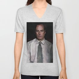 The Encroaching Darkness - Better Call Saul Unisex V-Neck