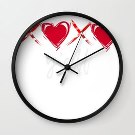 XOXO Yall Wall Clock