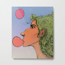 Oompa Loompa Girl Metal Print