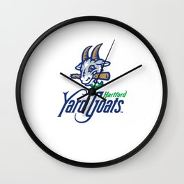 Yard Goats Wall Clock