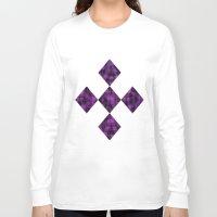 ikat Long Sleeve T-shirts featuring Ikat by Charlene McCoy