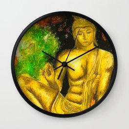 Sri Lankan Statue Wall Clock