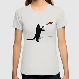 Cat and X-Wing T-shirt