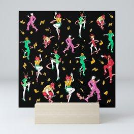 Party Animals Mini Art Print