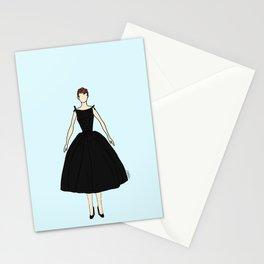 Audrey Hepburn Vintage Retro Fashion 1 Stationery Cards