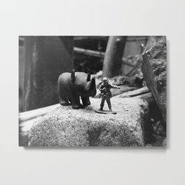 That Way Metal Print