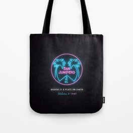 San Junipero Tote Bag