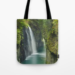 The Takachiho Gorge on the island of Kyushu, Japan Tote Bag