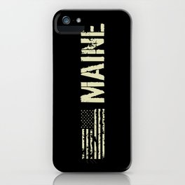 Black Flag: Maine iPhone Case