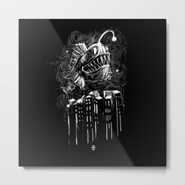 Underwater City Metal Print