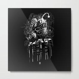 Underwater City Metal Print