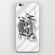 Figthing For Our Salvation iPhone & iPod Skin