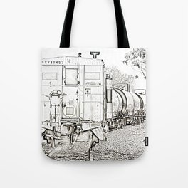 On Down The Line Tote Bag