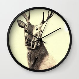 Life and Death piece 2 Wall Clock