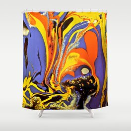 Color Explosion 5 Shower Curtain