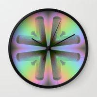 atlanta Wall Clocks featuring Westin Atlanta by Katie Troisi