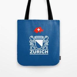 Zurich City of Switzerland Tote Bag