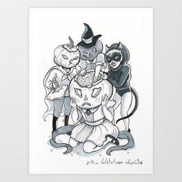 Inktober 003 Art Print