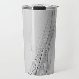Black & White Jellyfish Travel Mug
