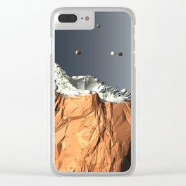 Like Screaming at Statues Clear iPhone Case