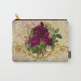 Decadent Velvet Rose Carry-All Pouch