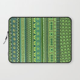 Yzor pattern 009 green-blue summer Laptop Sleeve