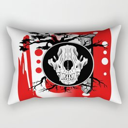 Amos Fortune Trash Polka Rectangular Pillow