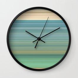 Praia da Luz Wall Clock