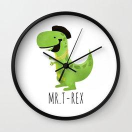 Mr. T-Rex Wall Clock